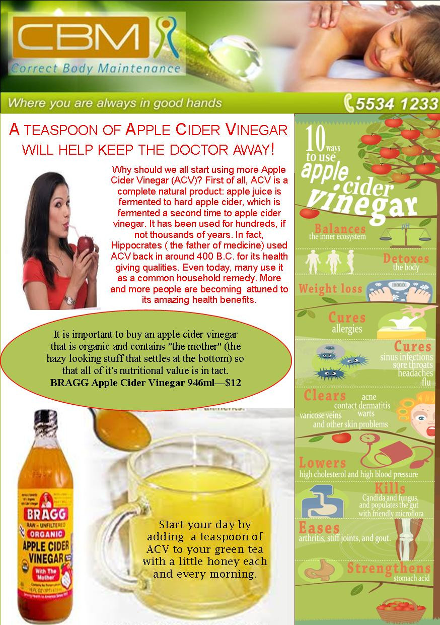 Apple Cider Vinegar FB