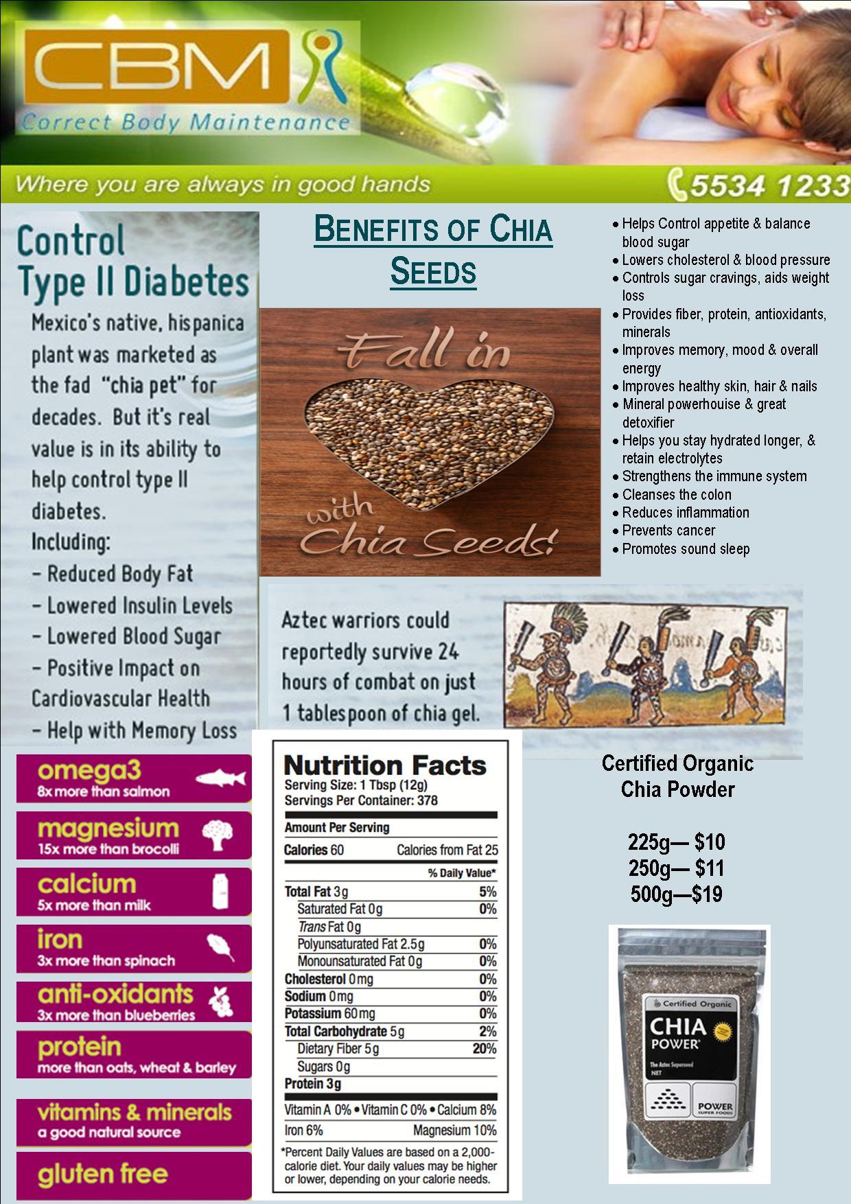 Chia seeds FB