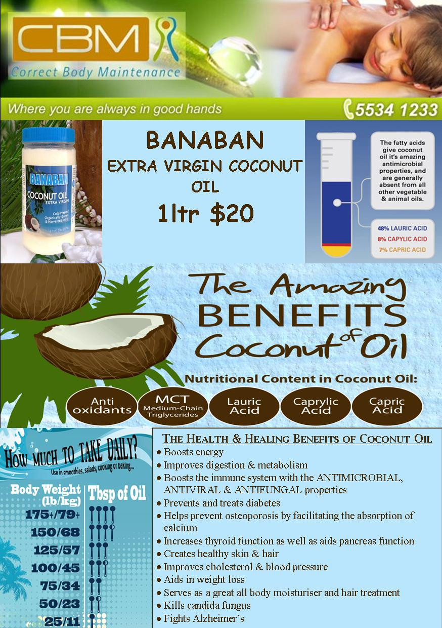 Coconut Oil FB