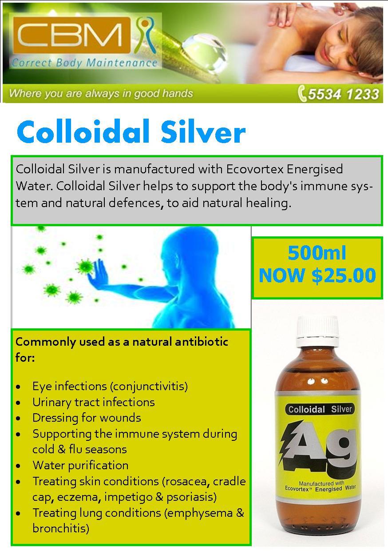 Colloidal Silver FB