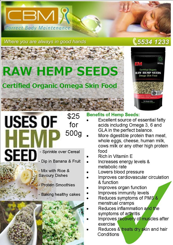 Hemp Seeds FB