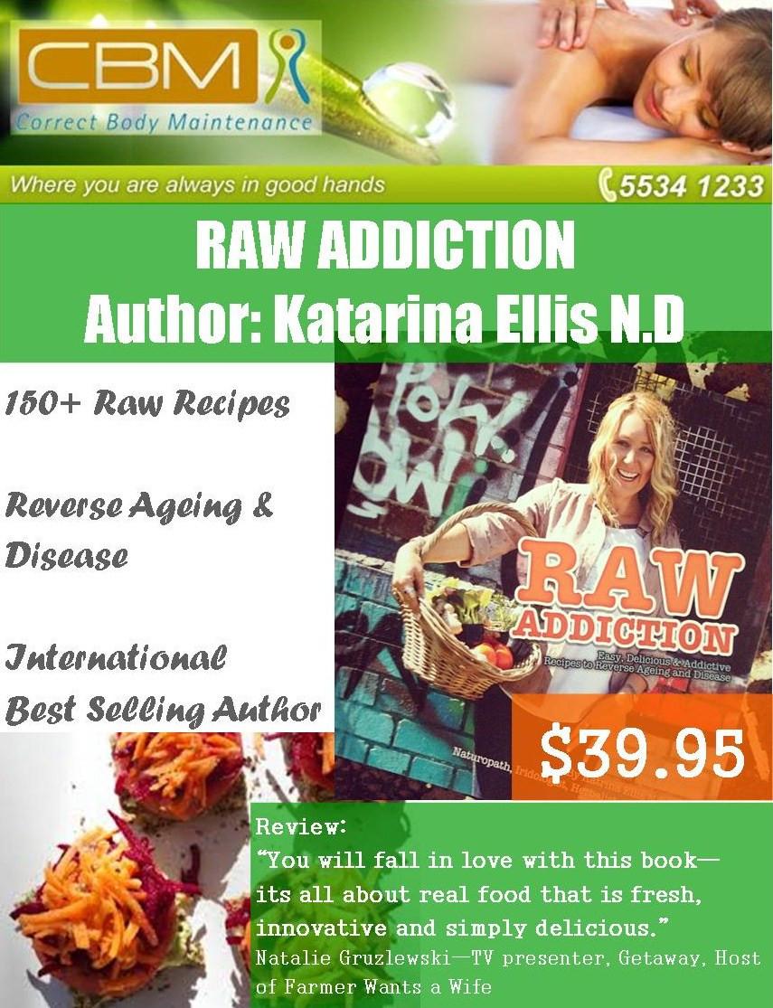 Raw Addiction BOOK