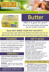 Butter is good for you