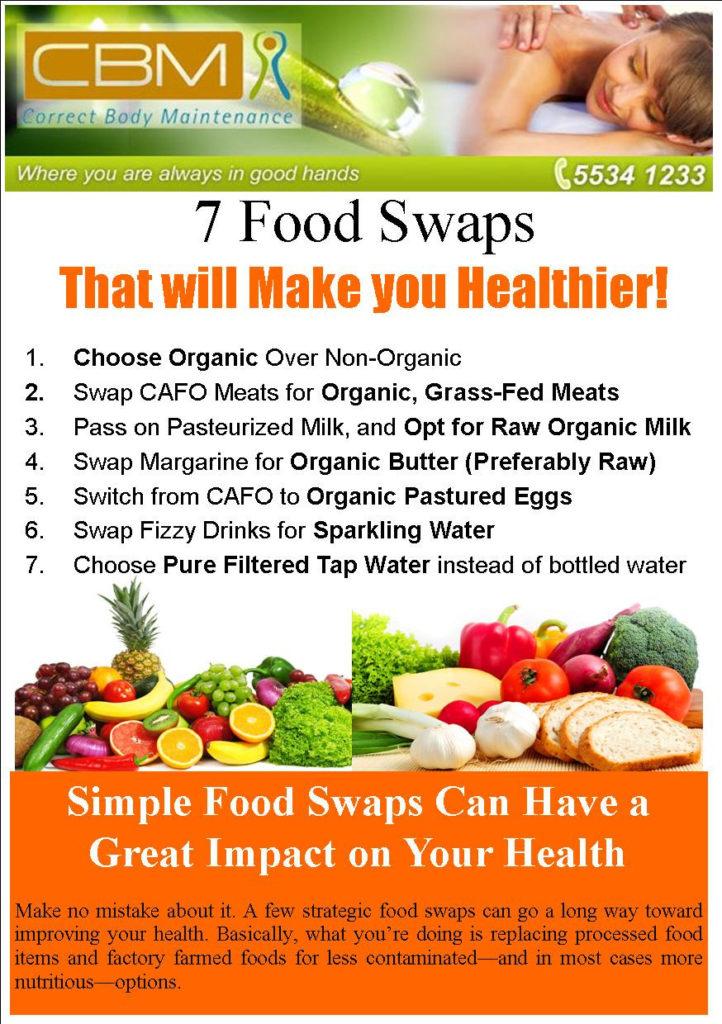 7 food swaps