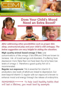 Does your childs mood need an extra boost