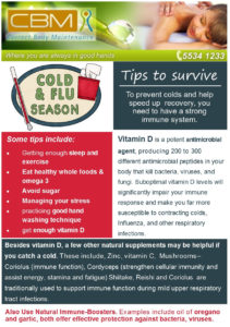 Tips to survive cold and flu season