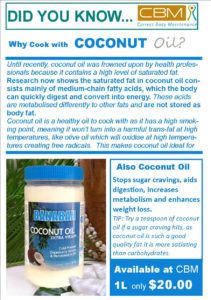 Why Cook with Coconut Oil