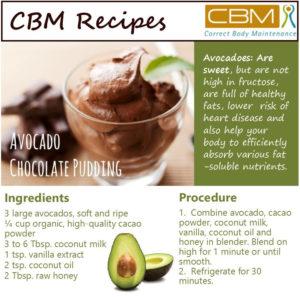 Advocado chocolate Pudding