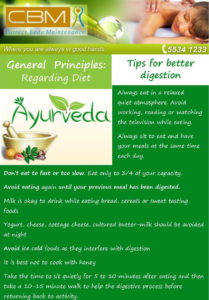 Ayurveda tips for better digestion