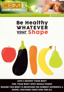 Be Heathy Whatever your shape