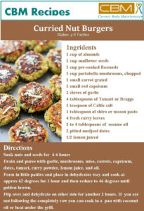 Curried Nut Burgers