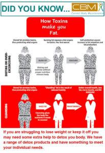 How Toxins make you fat