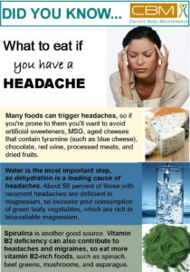What to eat if you have a headache (2)