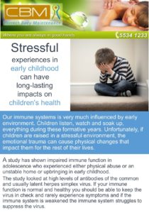 stressful-upbringing-equals-lowered-immune-syststem-function