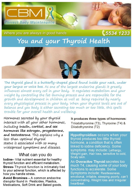 Thyroid Health | Correct Body Maintenance